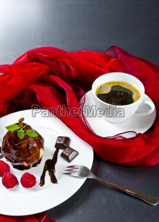 poire belle helene and kaffe