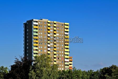 block of flats in frankfurt am