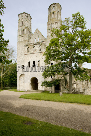 abbey of jumieges normandy france