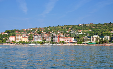 in the seaside resort of portoroz