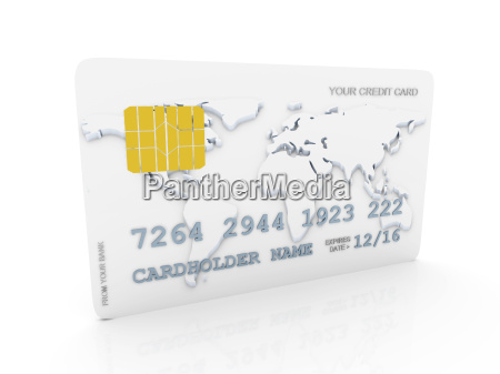 your credit card