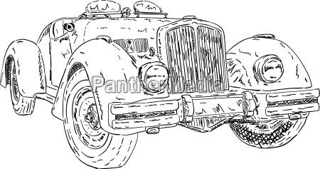 historical sport car