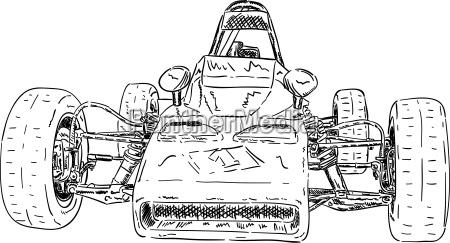 historical super sport car