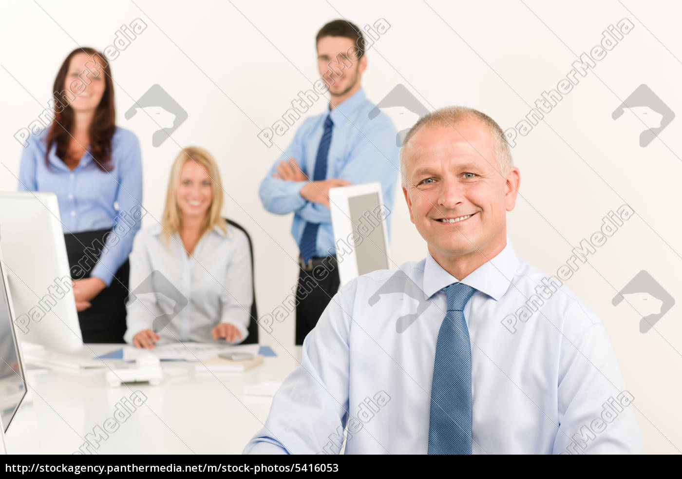 business, team, senior, manager, with, work - 5416053