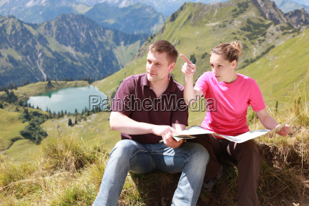 orientation in the alps