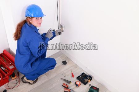 female electrician