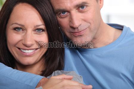 closeup of a loving couple