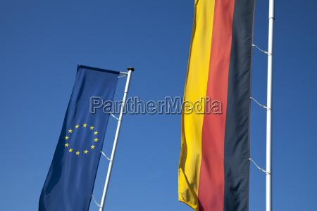 europe flag germany flag