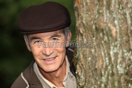 man in a cap in a