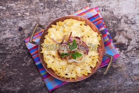 bavarian, spaetzle, with, cheese - 5493556