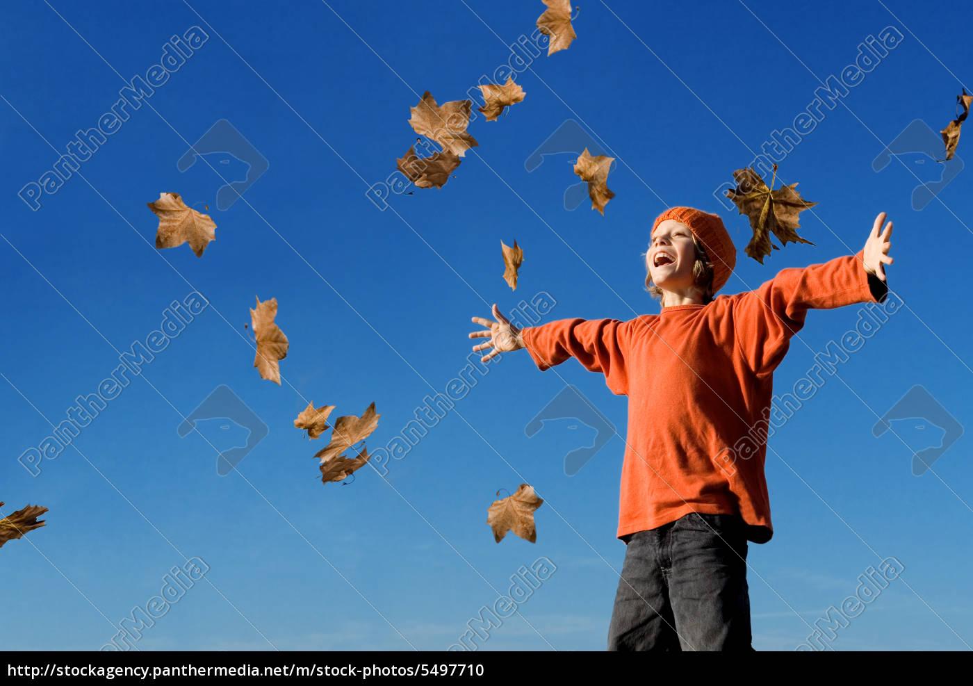 happy, kid, shouting, or, singing, in - 5497710