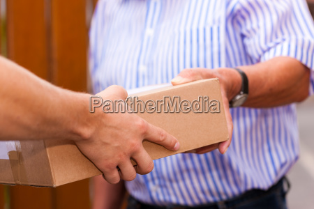 postal service delivery of a