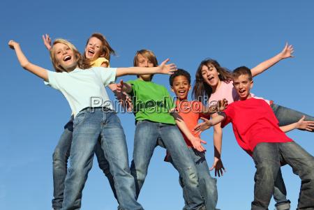 kids at summer glee club camp