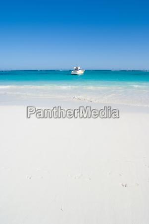 boat at the caribbean
