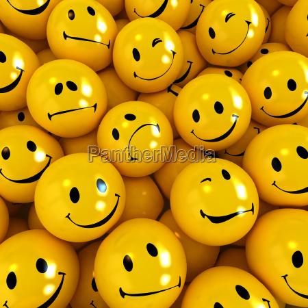 smilies with different expressions