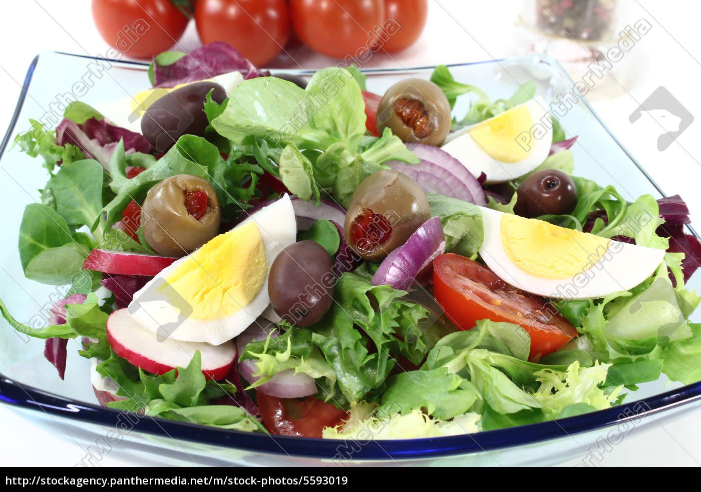 chef, salad - 5593019
