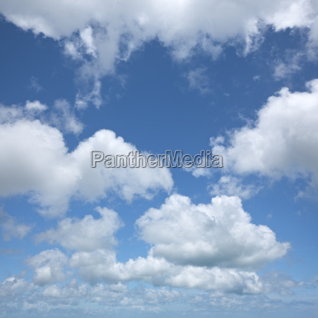 sky background in high resolution square