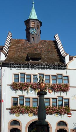 town hall staufen