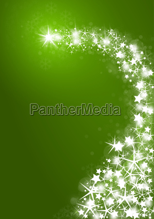 christmas background with bright stars on