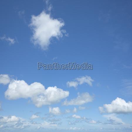 beautiful morning cloudscape square composition