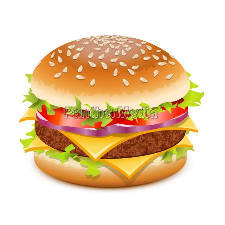 hamburger al formaggio