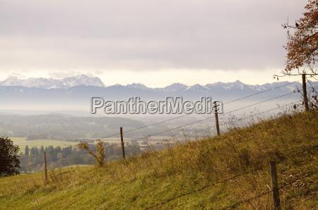 alpine upland and alps