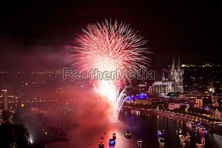 magnificent new years eve fireworks