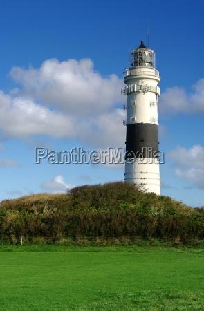 lighthouse kampen on sylt