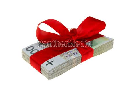 present polish money