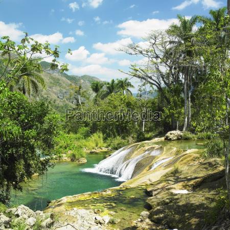 el nicho waterfall cienfuegos province cuba