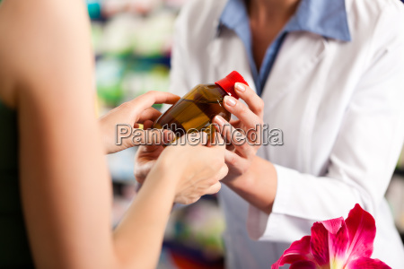 pharmacist in your pharmacy with a