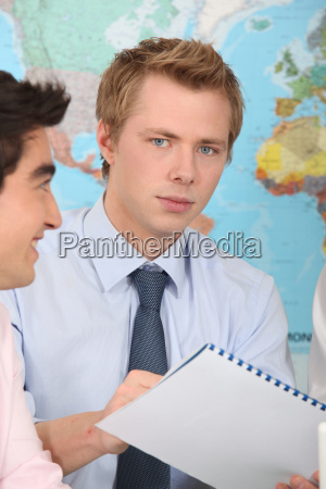 two geography students