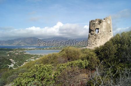 saracen tower at porto giunco u200bu200b