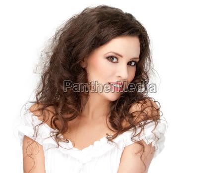 smukke brunette udgor