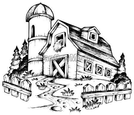 farm theme drawing 1