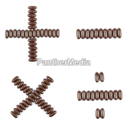 chocolate arithmetic operations
