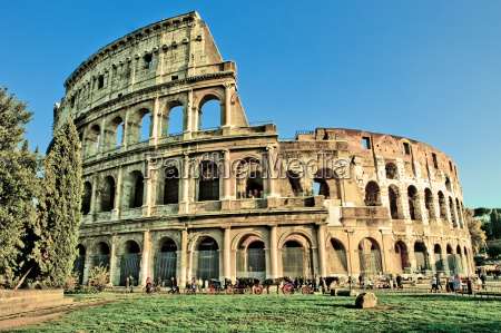 colosseum hdr