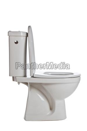 white ceramic toilet