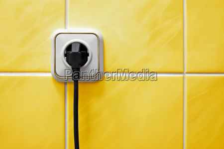 outlet in a bathroom