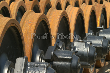 wheelsets for railcars in stock