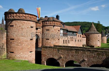city walls of buedingen