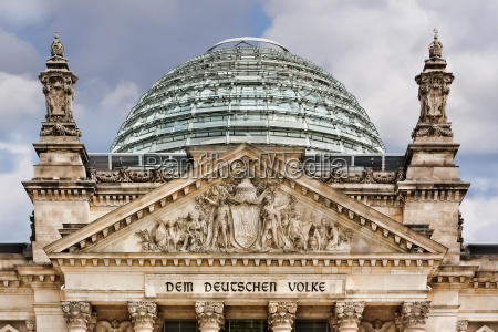 reichstag rooftop dome berlin germany