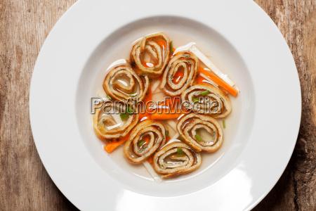 bayerischen frittatensuppe