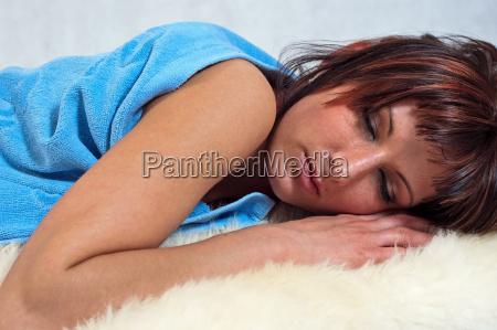 girl, sleeping - 6021557