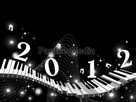 party night vector for new year