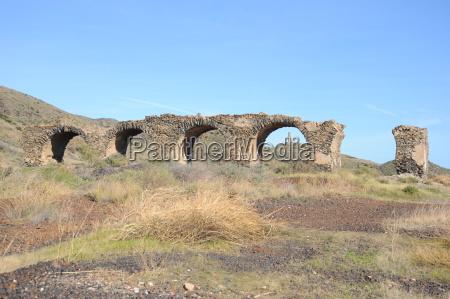 aqueduct in spain
