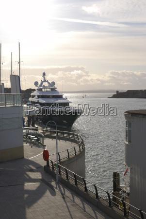 gunwharf quays waterfront portsmouth england