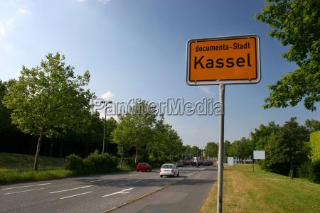 sign for kassel