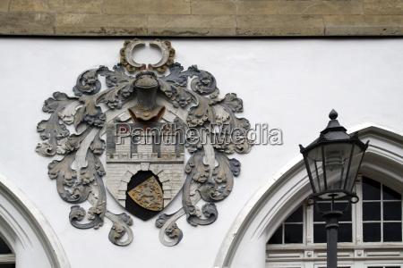 crest on bomann museum celle