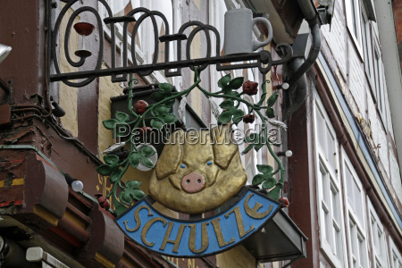 shield of a butcher in celle